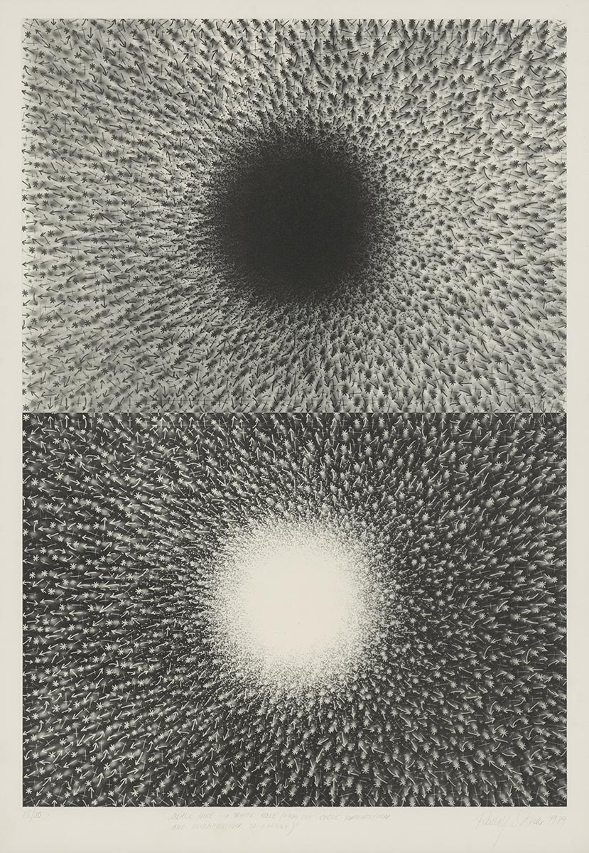 Rudolf Sikora, Biela diera – čierna diera. 1979. Stredoslovenská galéria v Banskej Bystrici