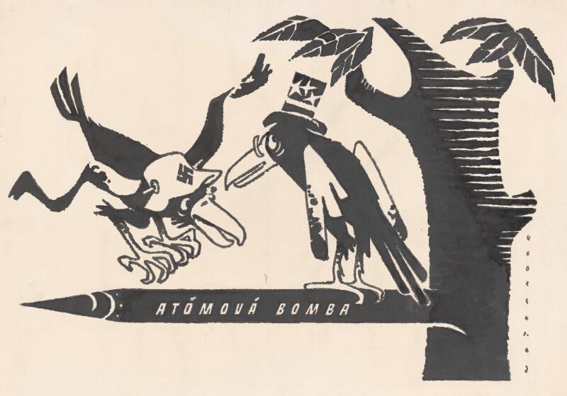 Viliam Weisskopf, Vrana k vrane sadá. 1957. Slovenská národná galéria