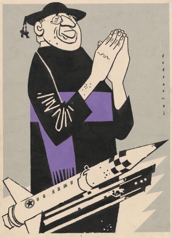 Viliam Weisskopf, Papež, Vatikán. 1959. Slovenská národná galéria