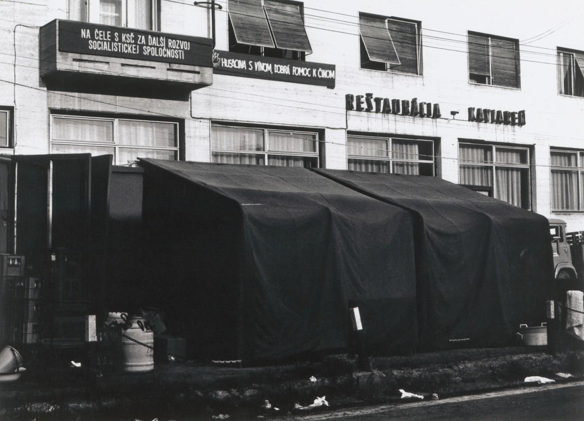 Juraj Bartoš, Fragmenty civilizácie. 1985 – 1988. Slovenská národná galéria