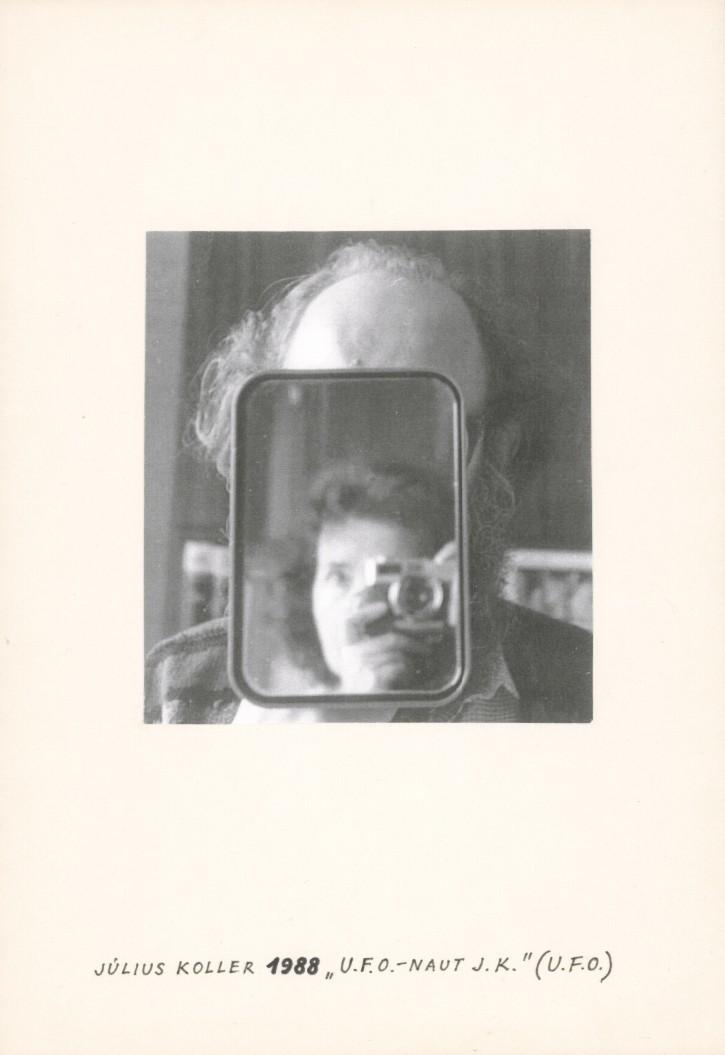 Július Koller, Kvetoslava Fulierová, U.F.O.-naut J.K. (U.F.O). 1988. Slovenská národná galéria