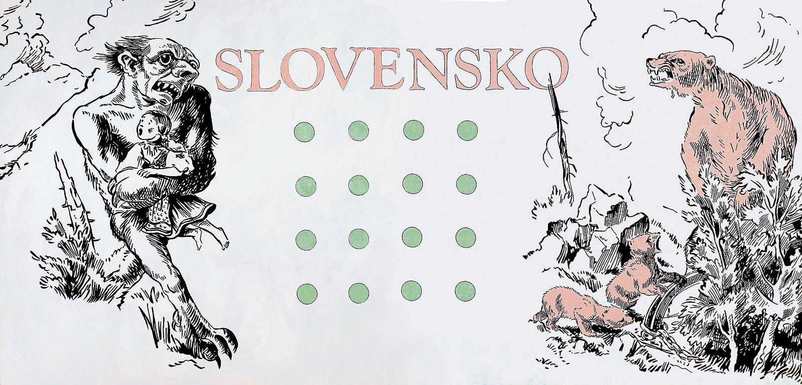 Gabriel Hošovský, Slovensko. 1989. Východoslovenská galéria