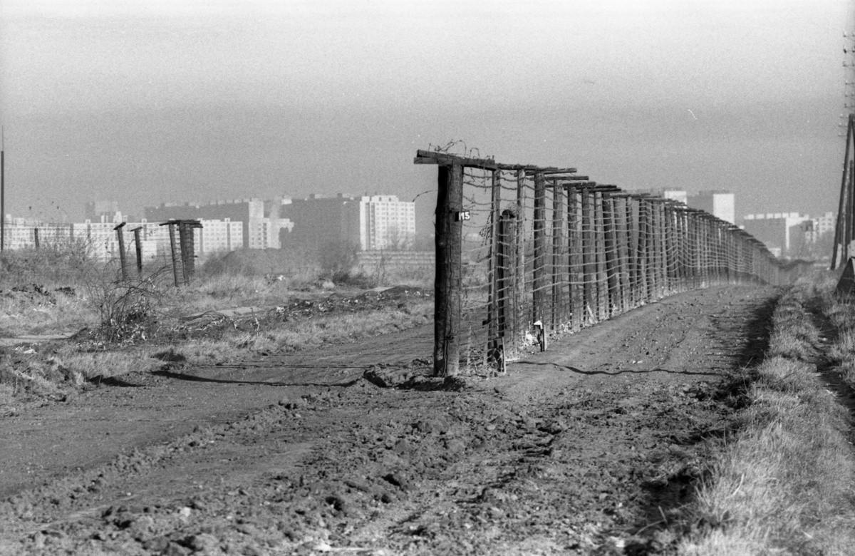 Alexander Buzinkay – ČSTK, Nový hraničný priechod v Jarovciach. 1989. TASR