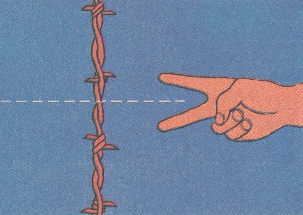 Cesta takmer tŕnistá. 1990. Časopis Roháč