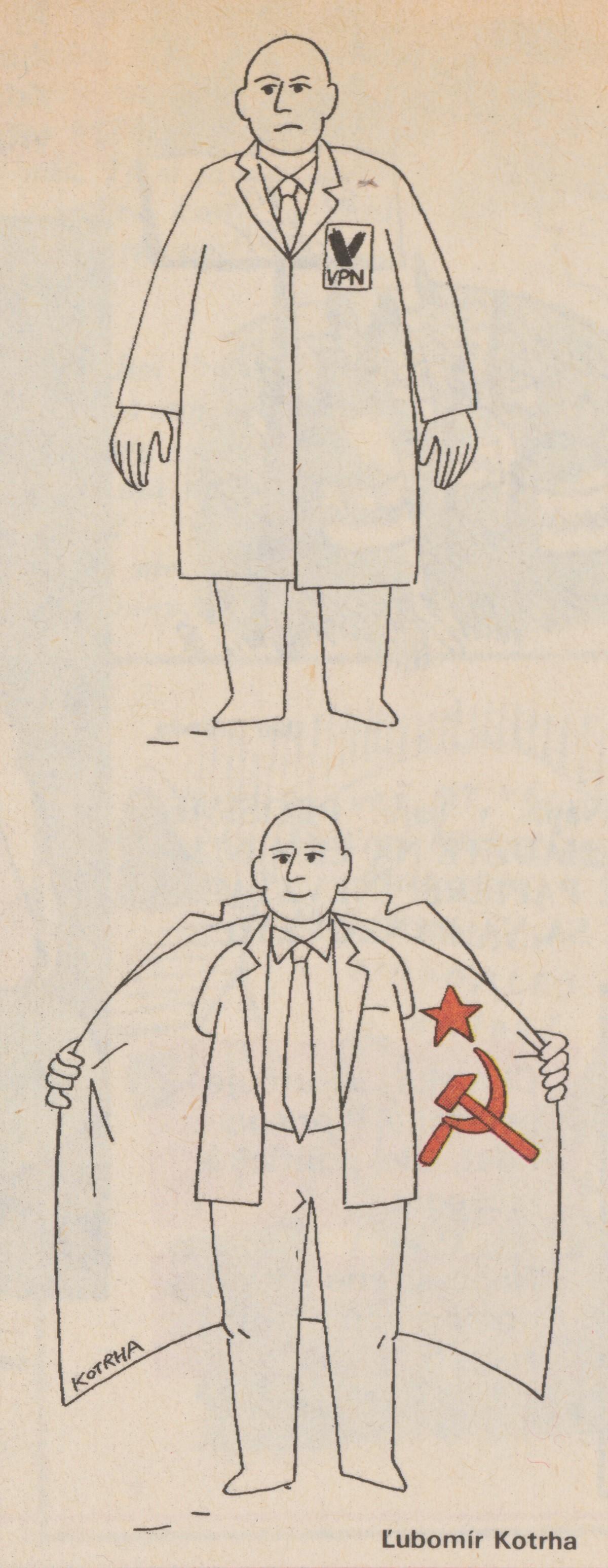 Ľubomír Kotrha, Prevracač. 1990. Časopis Roháč