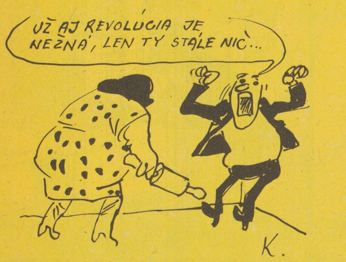 Viktor Kubal, Už aj revolúcia je nežná. 1990. Časopis Roháč
