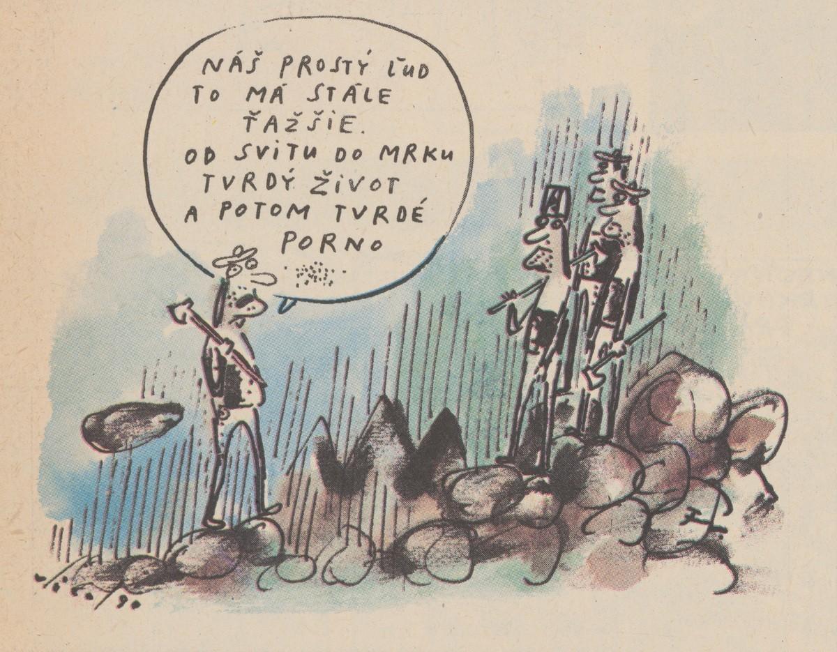Fedor Vico, Náš prostý ľud to má stále ťažšie. 1990. Časopis Roháč