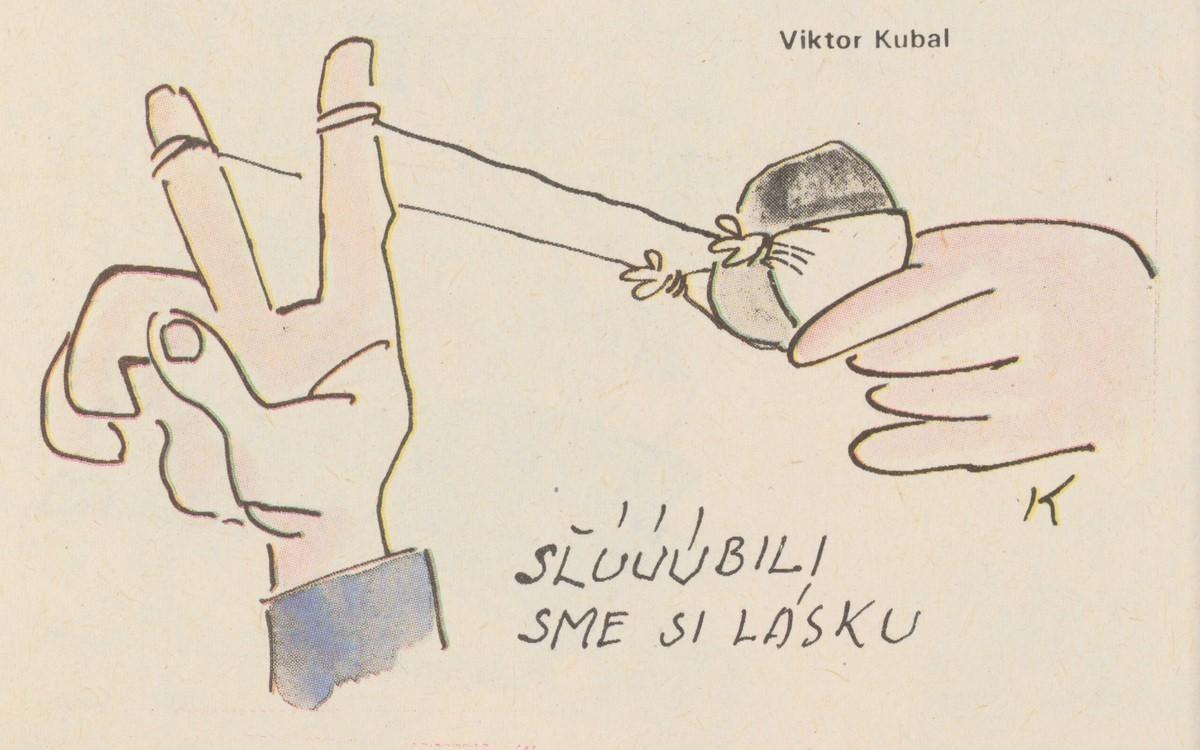 Viktor Kubal, Sľúúúbili sme si lásku. 1990. Časopis Roháč