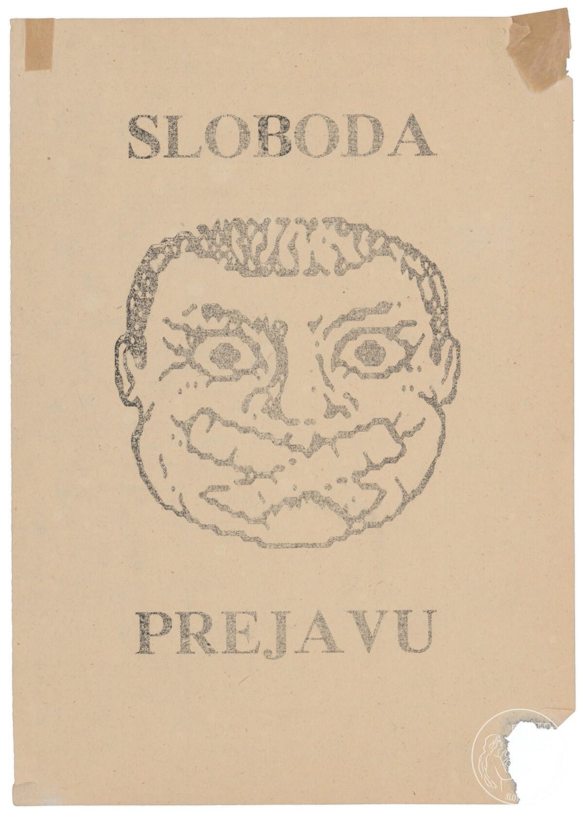 Sloboda prejavu. 1989 – 1992. Slovenský národný archív