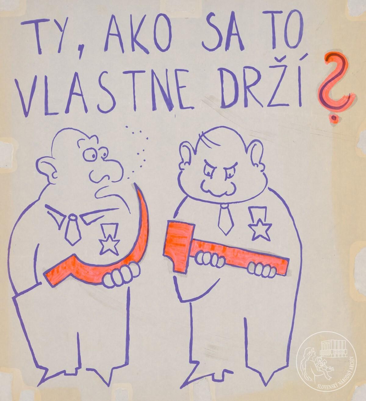 Ty, ako sa to vlastne drží?. Slovenský národný archív