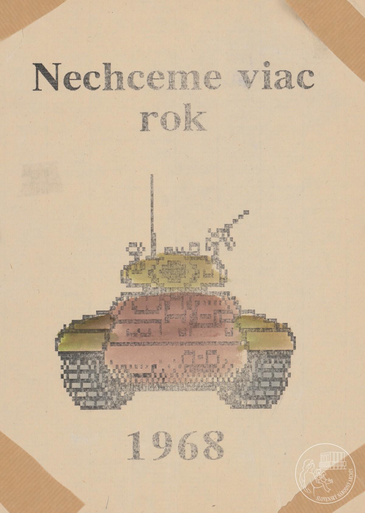 Nechceme viac rok 1968!. 1989 – 1992. Slovenský národný archív