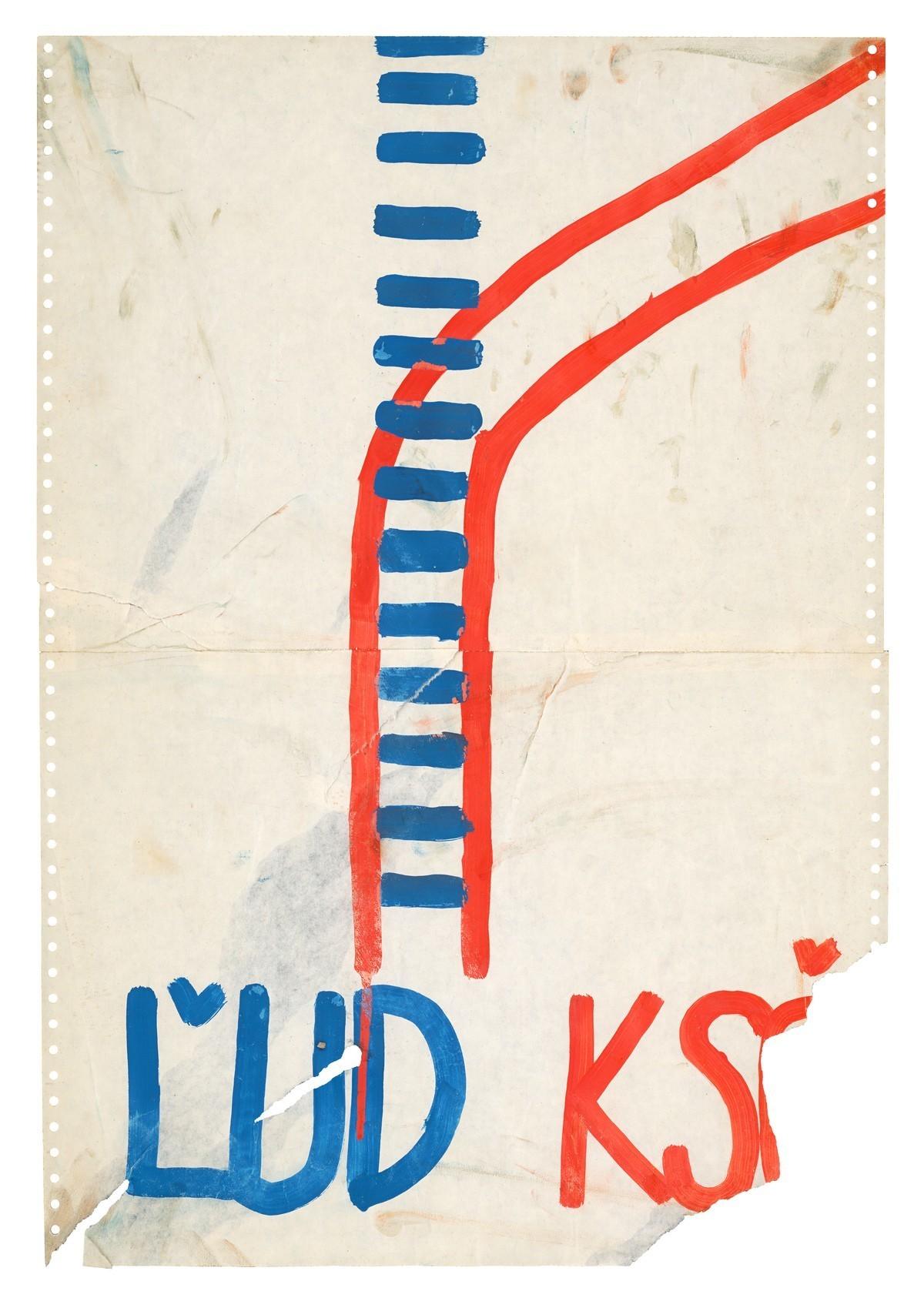 Ľud KSČ. 1989. Slovenské národné múzeum – Historické múzeum v Bratislave