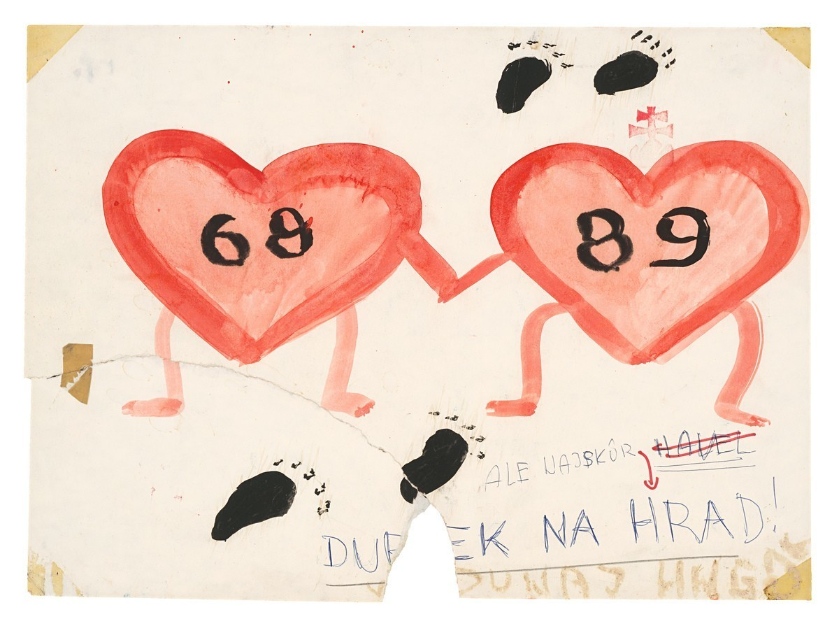68 a 89, Dubček na hrad. 1989. Slovenské národné múzeum – Historické múzeum v Bratislave