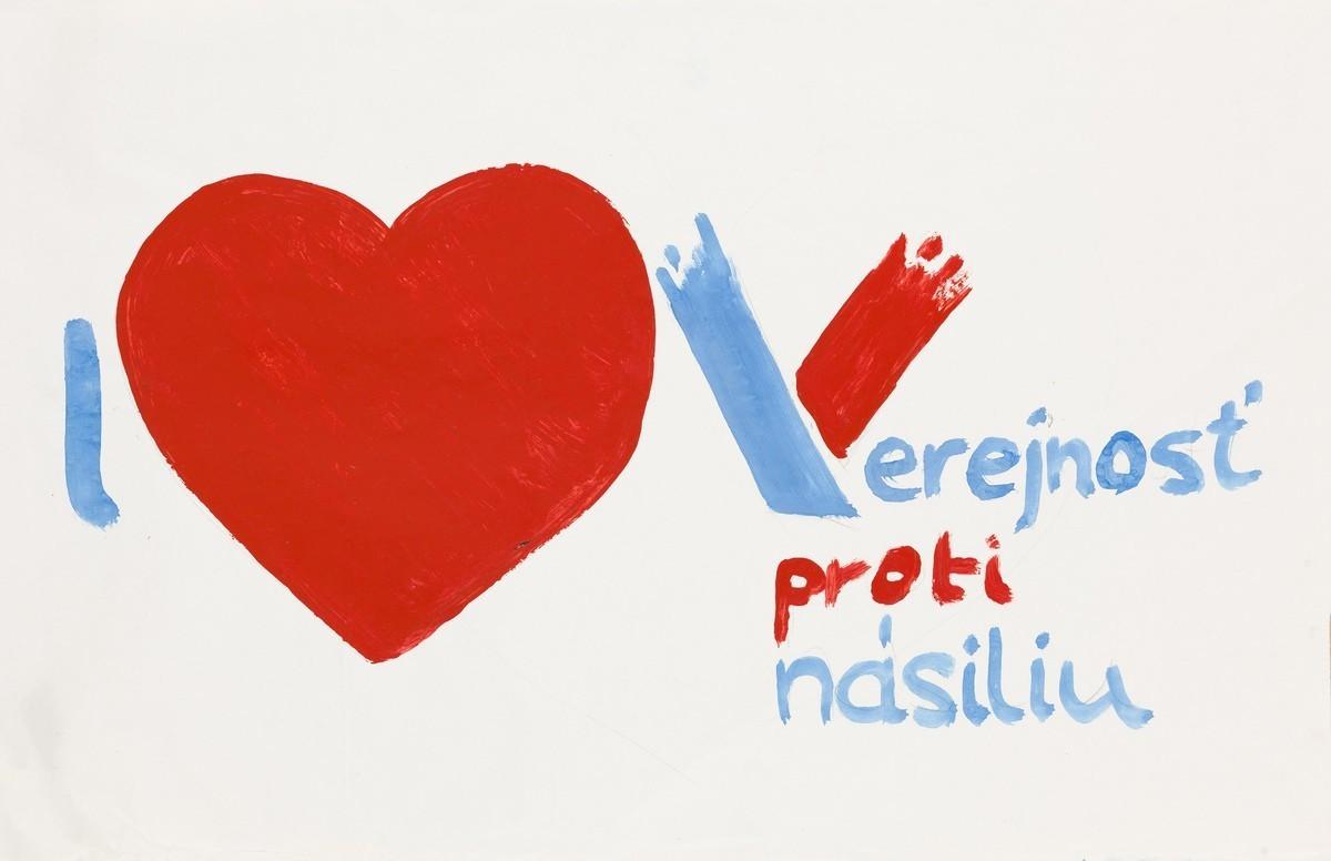 I love verejnosť proti násiliu. 1989. Slovenské národné múzeum – Historické múzeum v Bratislave