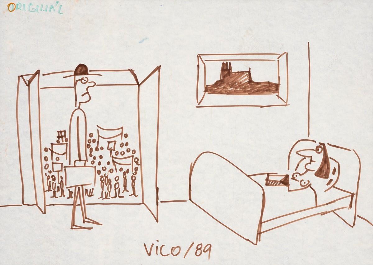 Fedor Vico, Vico/1989. Slovenské národné múzeum – Historické múzeum v Bratislave
