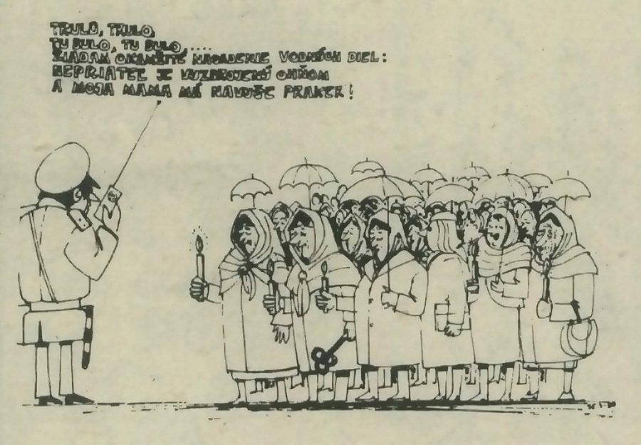 Trulo, Trulo, tu Bulo, tu Bulo... Žiadam o okamžité nasadenie vodných diel: nepriateľ je ozbrojený ohňom a moja mama má navyše praker!. 1989. Univerzitná knižnica v Bratislave